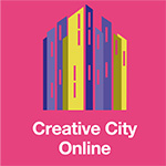 Creative City Online home page